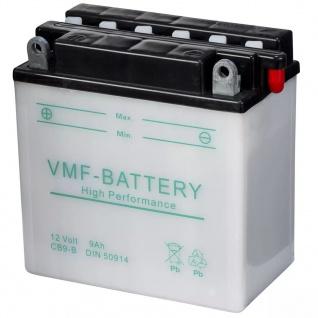 VMF Powersport Batterie 12 V 9 Ah YB9-B