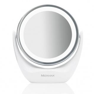 Medisana 2-in-1 Kosmetikspiegel CM 835 12 cm Weiß 88554