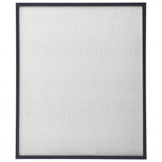 vidaXL Insektenschutz für Fenster Anthrazit 130x150 cm