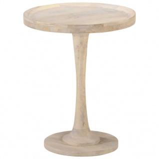 vidaXL Beistelltisch Ø60x75 cm Mango Massivholz