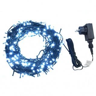 vidaXL Lichterkette 600 LEDs Indoor und Outdoor IP44 60 m Kaltweiß