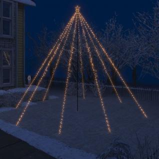 vidaXL LED-Lichterkette Weihnachtsbaum Indoor Outdoor 800 LEDs 5 m