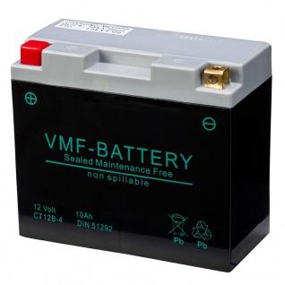 VMF Powersport AGM Batterie 12 V 10 Ah FA YT12B-4