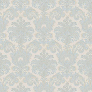 Noordwand Tapete Classic Ornaments Blau