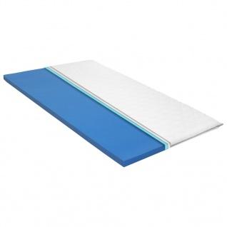 vidaXL Matratzenauflage 100x200 cm viskoelastischer Memory-Schaum 6 cm