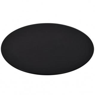 vidaXL Tischplatte aus gehärtetem Glas rund 300 mm