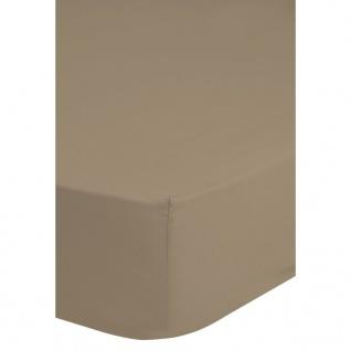 Emotion Spannbettlaken Jersey 180x220 cm Sand 0200.02.47