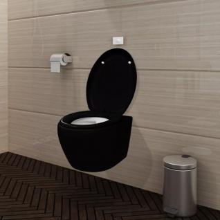 Wand-Hänge WC/Toilette +Soft WC Sitz+Spülkasten