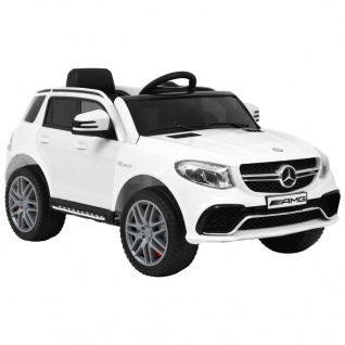 vidaXL Kinderauto Mercedes Benz GLE63S Kunststoff Weiß
