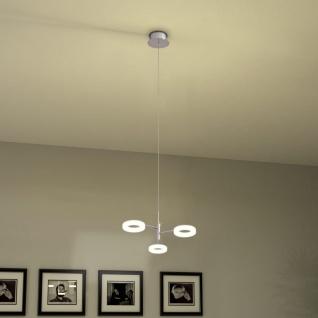 vidaXL LED-Pendelleuchte mit 3 Lampen Warmweiß