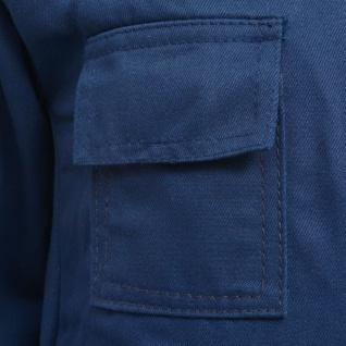 vidaXL Kinder Arbeitsoverall Größe 158/164 Blau - Vorschau 3