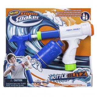 Nerf Wasserpistole Super Soaker Bottle Blitz Kunststoff B4445EU50 - Vorschau 2