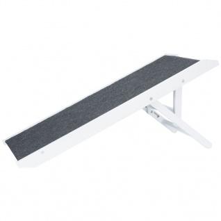 TRIXIE Höhenverstellbare Haustier-Rampe 36×90 cm MDF Weiß 39375