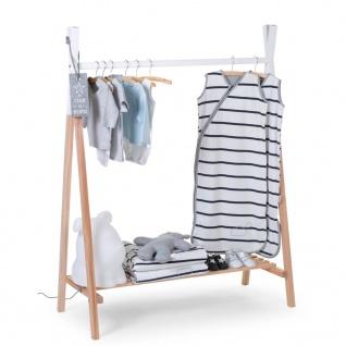 CHILDWOOD Garderobe Tipi Birke Natur und Weiß CLSTIPI