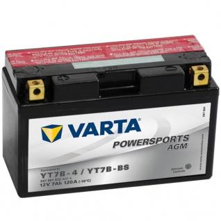Varta AGM Batterie 12 V 7 Ah YT7B-4 / YT7B-BS