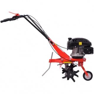 vidaXL Benzin Gartenfräse 5 PS 2, 8 kW Rot - Vorschau 3