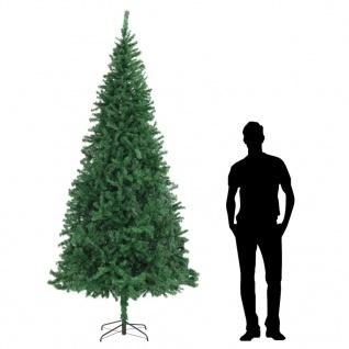 vidaXL Künstlicher Weihnachtsbaum 300 cm Grün