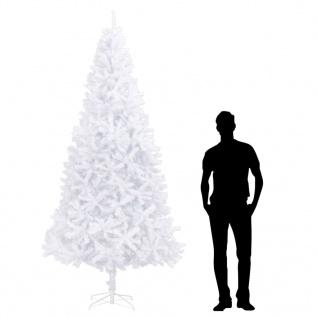 vidaXL Künstlicher Weihnachtsbaum 300 cm Weiß