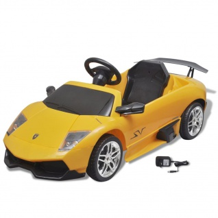Elektroauto Ride On Lamborghini Murcielago LGO LP 670-4SV 6 V Gelb