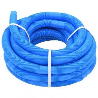 vidaXL Poolschlauch Blau 32 mm 15, 4 m
