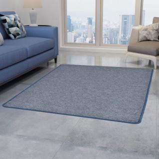 vidaXL Teppich Getuftet 190 x 290 cm Blau