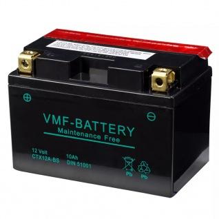 VMF Powersport Liquifix Batterie 12 V 10 Ah MF YTX12A-BS