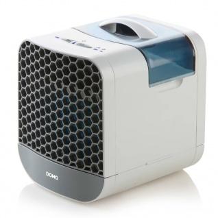 DOMO Tisch-Luftkühler 21 cm 6 W Grau und Weiß