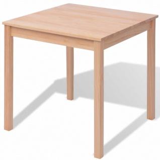 vidaXL Fünfteiliges Esstisch-Set Pinienholz - Vorschau 3