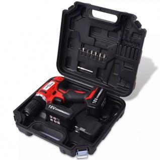 vidaXL Akku-Bohrschrauber-Kit mit 18 V Li-Ionen-Batterien - Vorschau 2