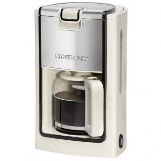 Clatronic Kaffeemaschine 900 W Creme KA 3558