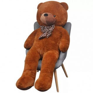 XXL Weicher Plüsch-Teddybär Braun 100 cm - Vorschau 2