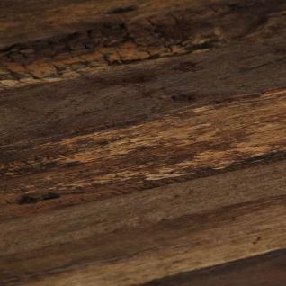 vidaXL Opium Couchtisch Altholz und Stahl 80×78×35 cm - Vorschau 2