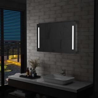 vidaXL Badezimmer-Wandspiegel mit LED 100 x 60 cm