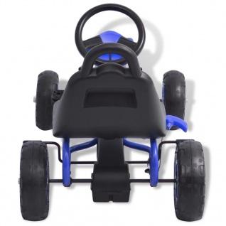 vidaXL Pedal Go-Kart mit Luftreifen Blau - Vorschau 5