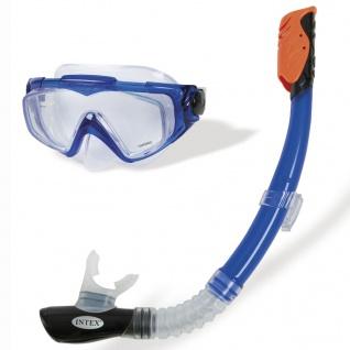 Intex 2-tlg. Tauchset Silicone Aqua Sport