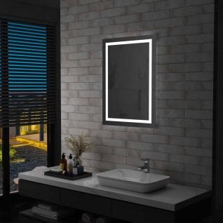 vidaXL Badezimmerspiegel mit LED und Touch-Sensor 60 x 80 cm