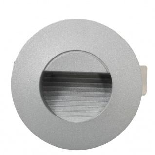 vidaXL Außenwandleuchten 6 Stk. LED 5 W Silbern Rund - Vorschau 5