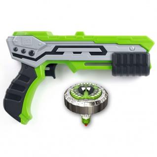 Silverlit Kreisel Blaster Mad Single Shot Thunder Grün