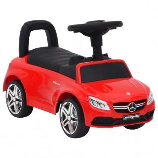 vidaXL Rutschauto Mercedes-Benz C63 Rot