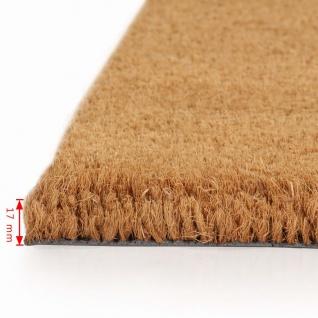 vidaXL Natürliche Fußmatte Coir 17 mm 100x100 cm - Vorschau 3