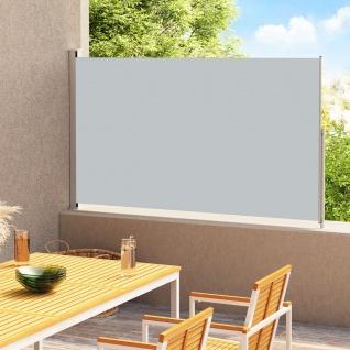 vidaXL Ausziehbare Seitenmarkise 220x300 cm Anthrazit