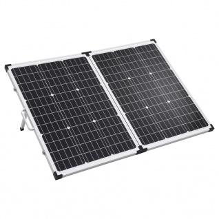 vidaXL Solarmodul in Koffer-Design Klappbar 120 W 12V