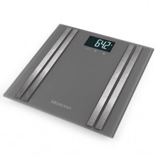 Medisana Körper-Analysewaage BS 476 180 kg Grau 40431