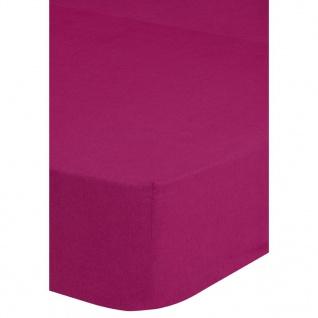 Emotion Spannbettlaken Jersey 180x220 cm Rosa 0200.72.47