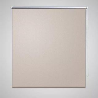 Verdunkelungsrollo Verdunklungsrollo 140 x 175 cm beige