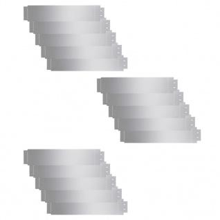 vidaXL Rasenkanten 15 Stk. Verzinkter Stahl 100 x 20 cm - Vorschau 2