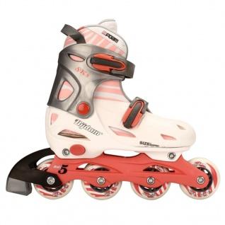 Nijdam Junior Inline-Skates 30-33 rosa/anthrazit 52SC