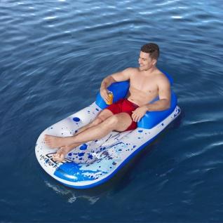 Bestway Schwimmliege Hydro-Force 161 x 84 cm Blau