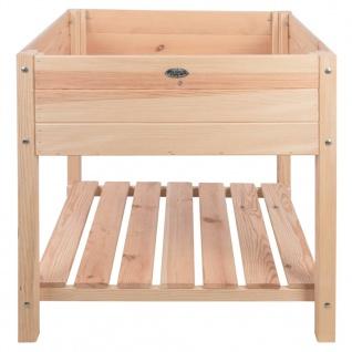 Esschert Design Hochbeet Blank Helles Holz XL