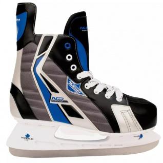 Nijdam Eishockey Schlittschuhe Gr. 43 Polyester 3386-ZBZ-43